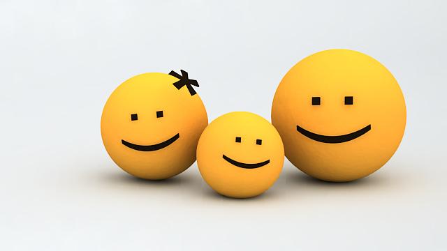 SmileTheWeb - Smilies 3D