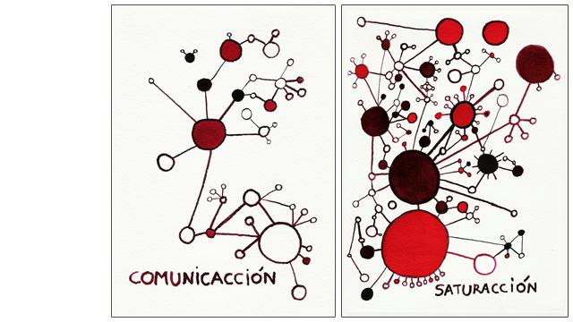 Ilustración - Comunicacción - Saturacción