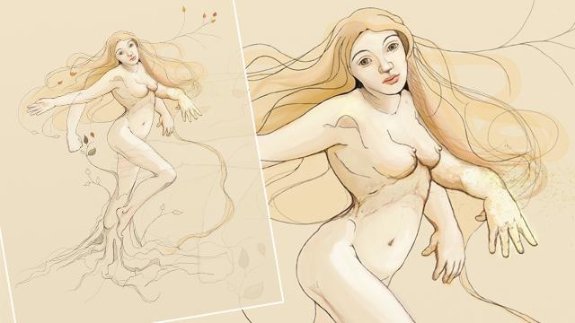 Ilustración - Dafne