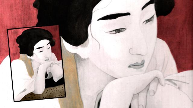 Ilustración - Geisha