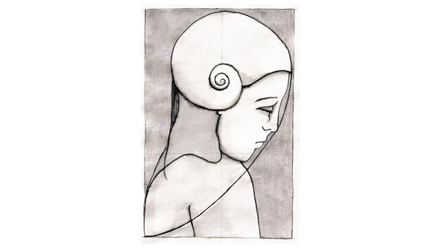 Ilustración - Niño aureo