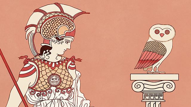 Ilustración - Tarot clásico - Atenas