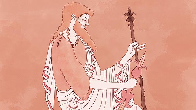 Ilustración - Tarot clásico - Zeus, Apolo y Atenas
