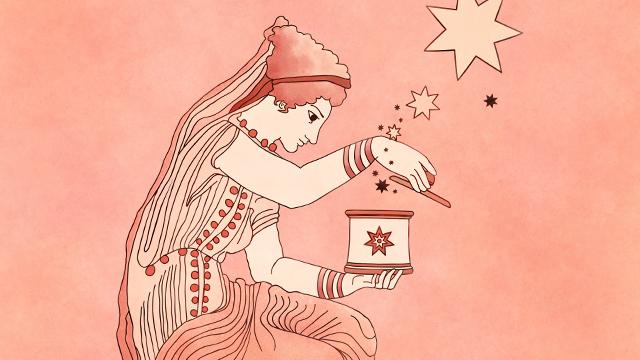 Ilustración - Tarot clásico - Pandora