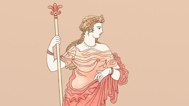 Ilustración - Tarot clásico - Demeter