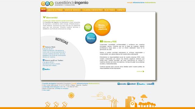 Cuestión de Ingenio - Diseño, maquetación y desarrollo php