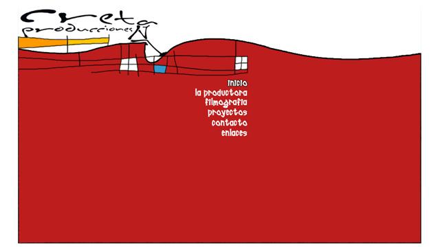 Creta Producciones - Diseño y maquetación