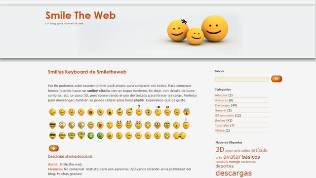 SmileTheWeb - Diseño, maquetación y gestión en WordPress