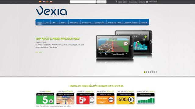 Vexia - Diseño y maquetación de Tienda en WordPress Multisite
