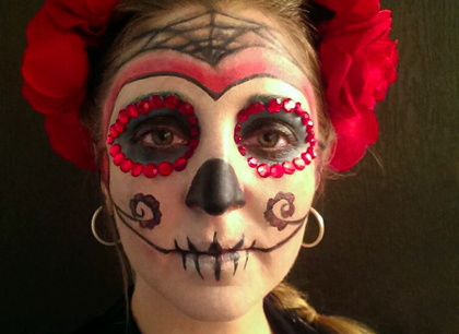 Catrina – Maquillaje Fantasía Halloween