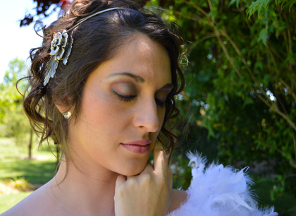 Azul y rosa – Maquillaje Novia