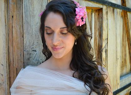 Primaveral Hortensia – Maquillaje Novia