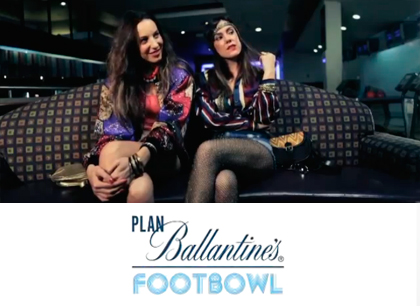 Plan Ballantine's Footbowl