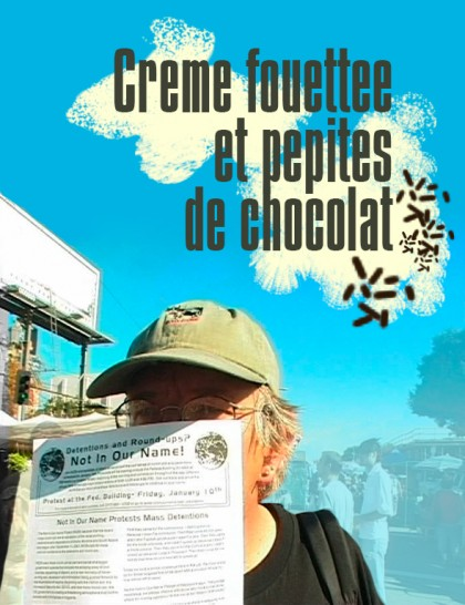 Creme Fouettee et pepites de chocolat - Póster - Filmotech