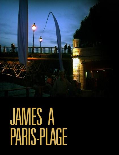 James a Paris plage - Póster - Filmotech