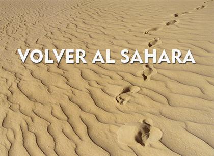 Volver al Sáhara