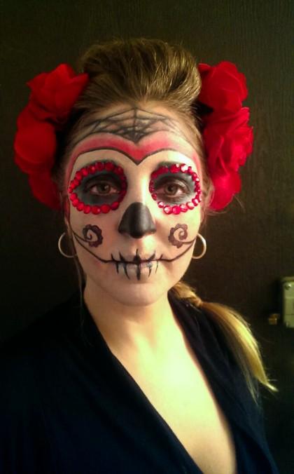 Makeup - Fantasia Halloween-halloween - Catrina - 01