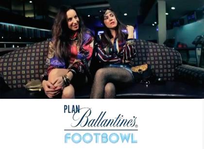 Plan Ballantine's Footbowl